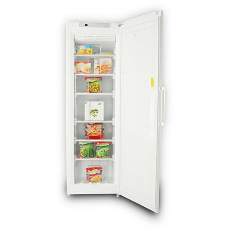 Congelador Vertical New Pol NY391 No Frost 185x60 Blanco A+ ---449€: Productos y Ofertas de Don Electrodomésticos Tienda online