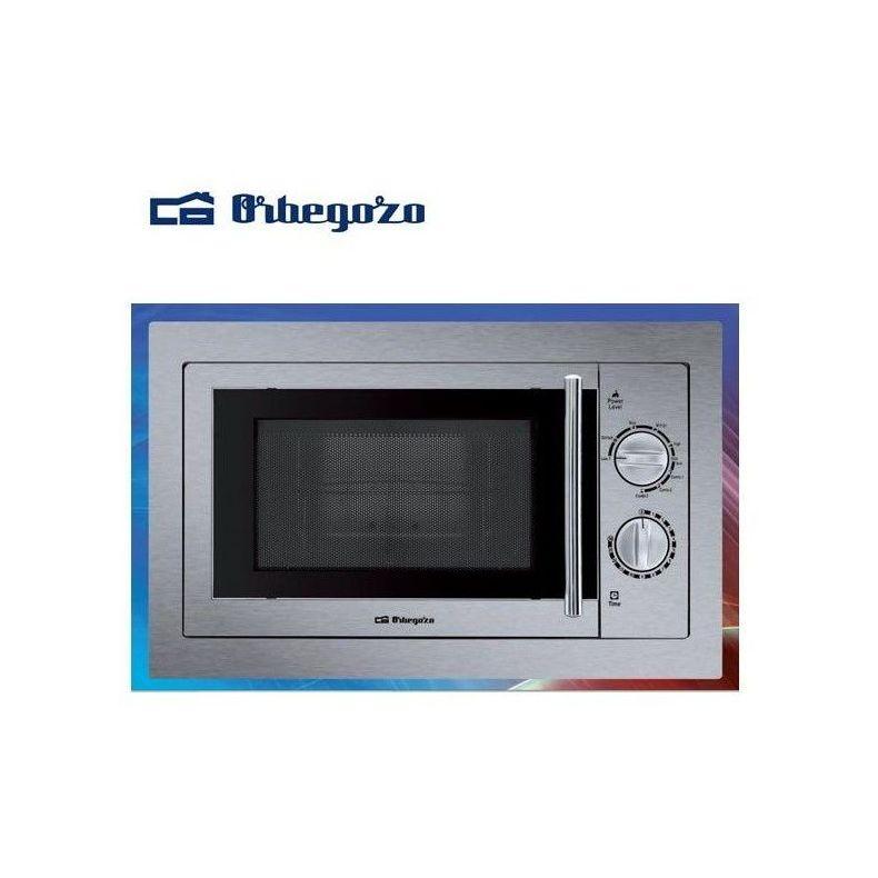 Microondas integrable ORBEGOZO MIG 2033 INOX 20L ---119€: Productos y Ofertas de Don Electrodomésticos Tienda online