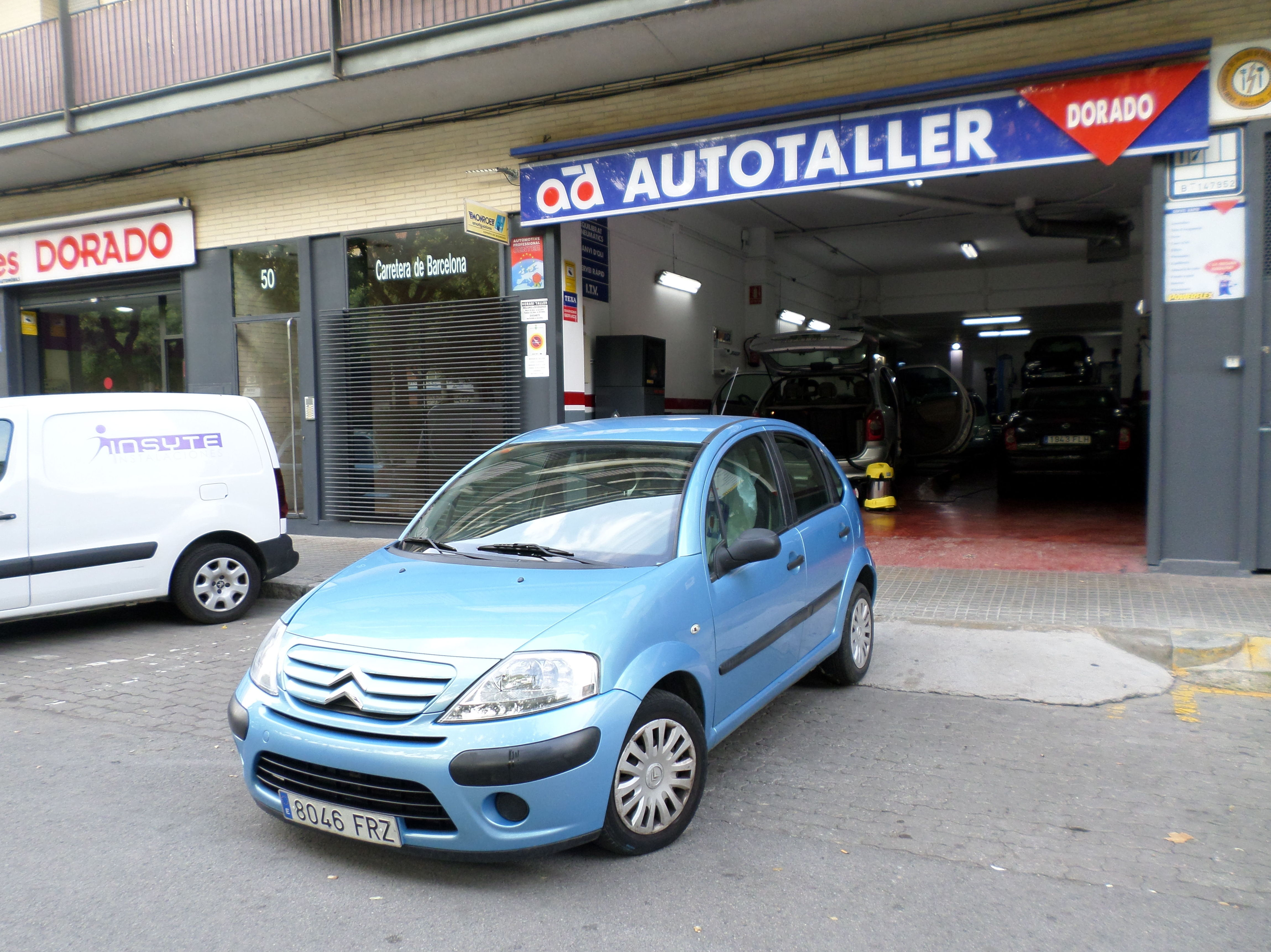 Citroen C3 año 2007 1.1 i. 118000 kms. 3300 €uros: Servicios de reparación  de Automóviles y Talleres Dorado