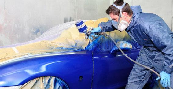 Pintura: Servicios de reparación  de Automóviles y Talleres Dorado