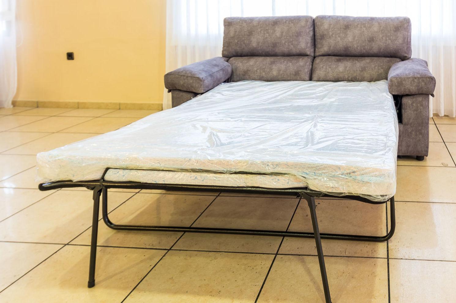 Sofá convertible en cama