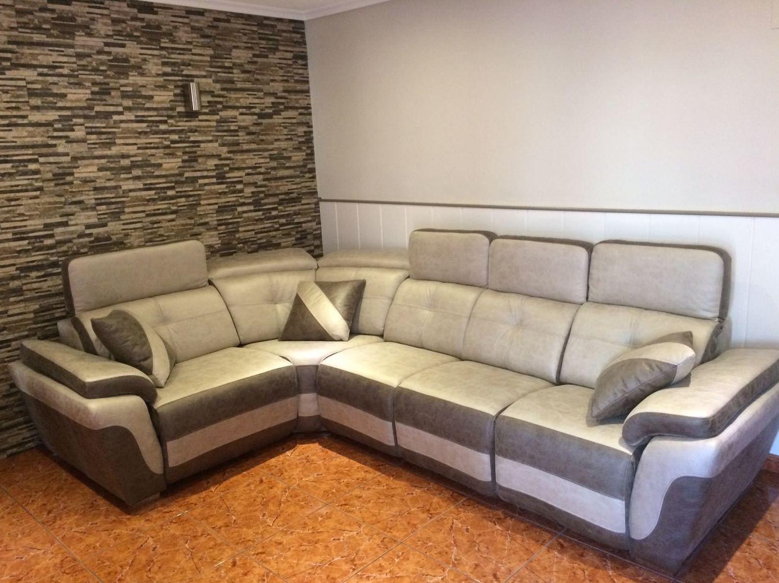 Gran variedad de modelos de sofás