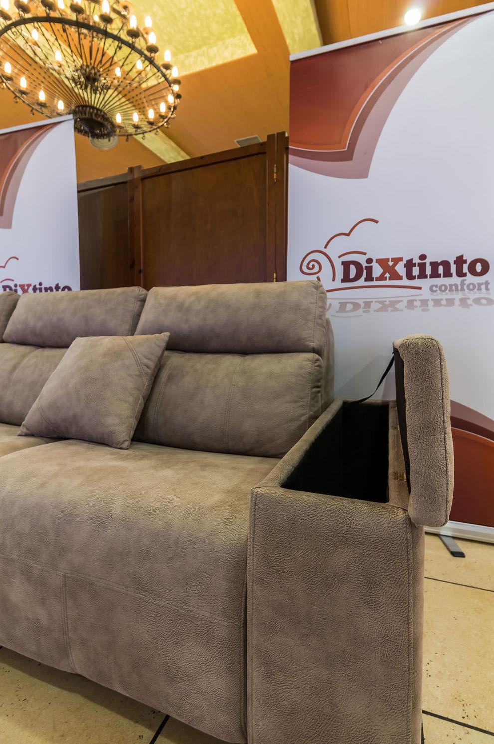 Brazo de sofá para almacenaje
