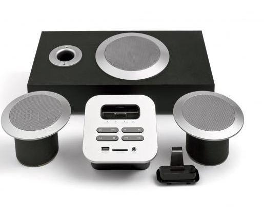 Sistema de audio con subwoofer