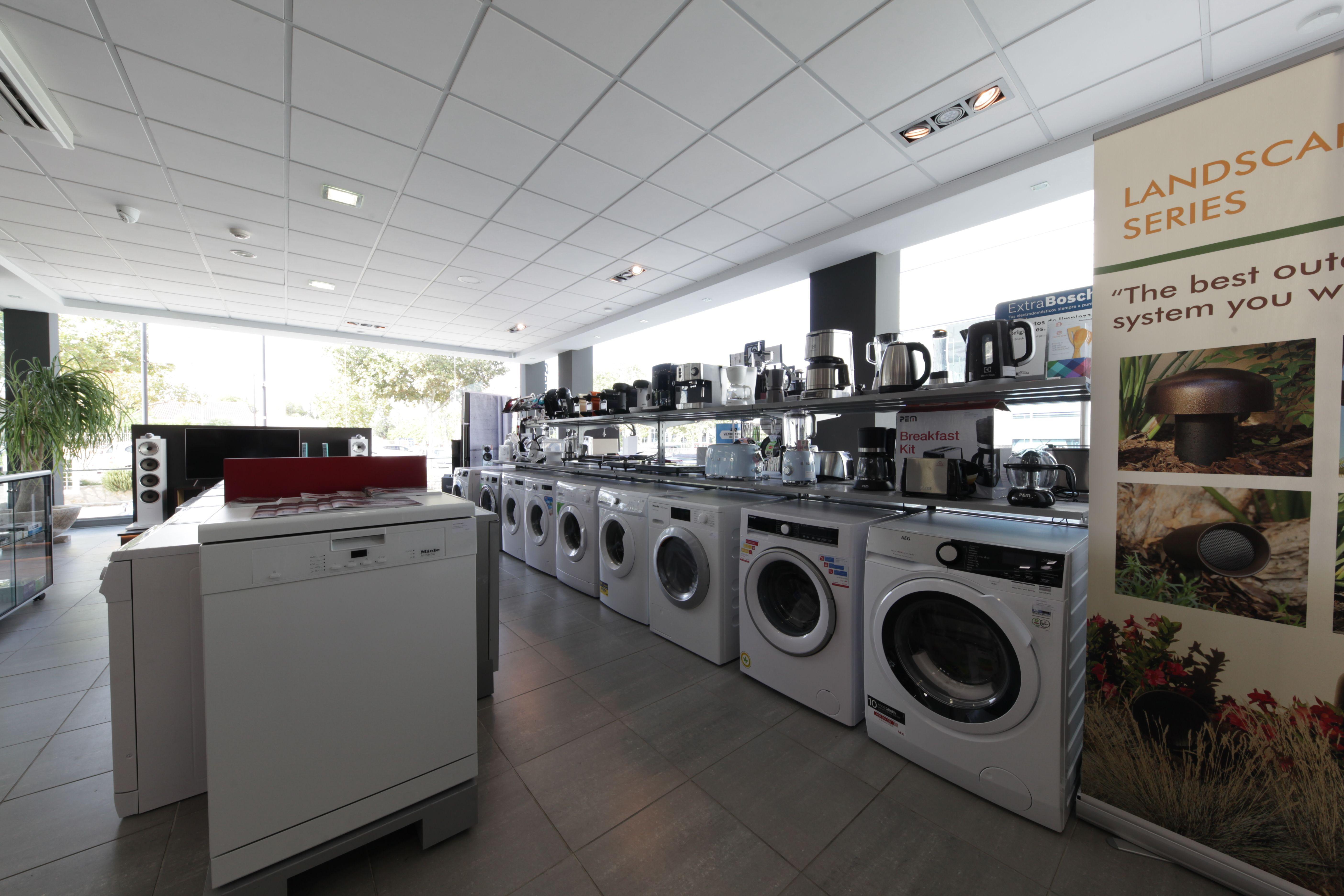 Amplia gama de electrodomésticos