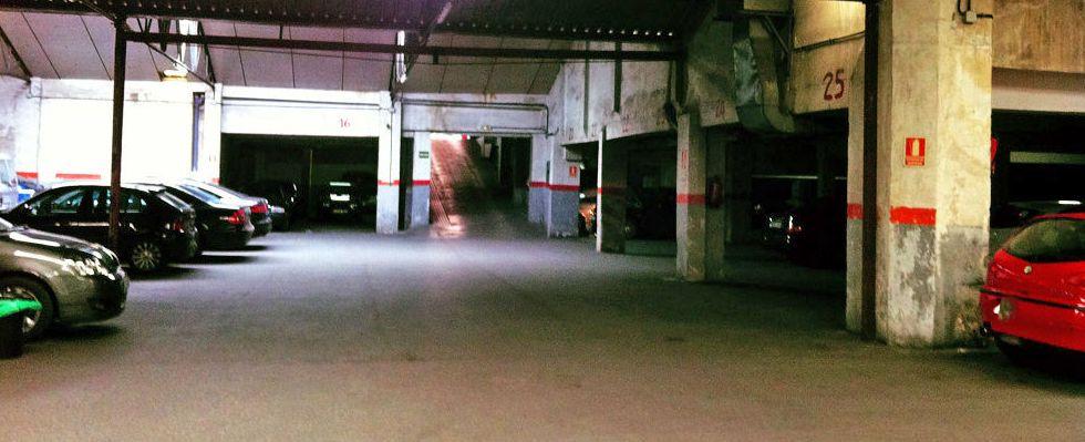 alquiler de plazas de garaje en nuevos ministerios cuatro