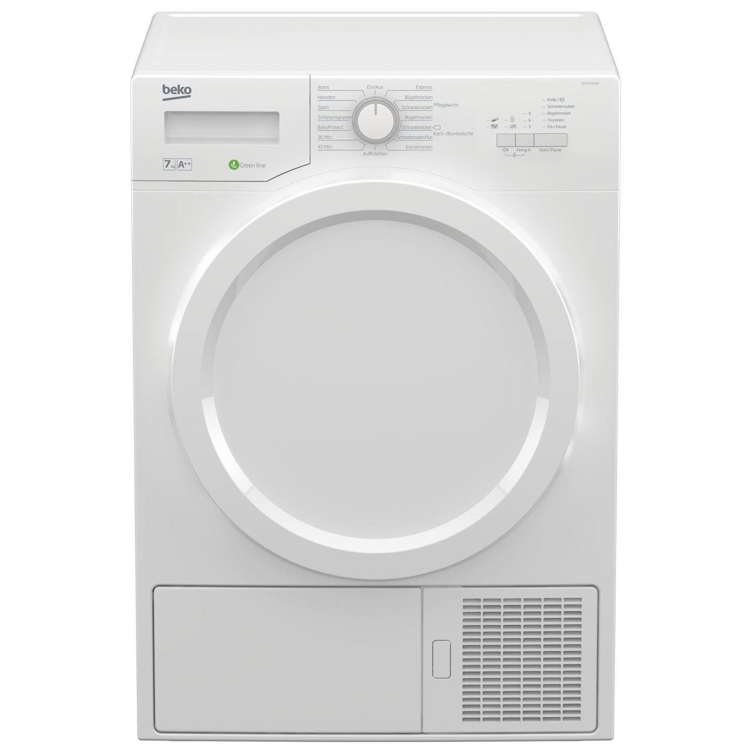 SECADORA BEKO DPS 7205 W3