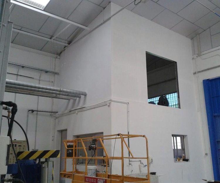 Aislamiento acústico en sala de máquinas en Valencia