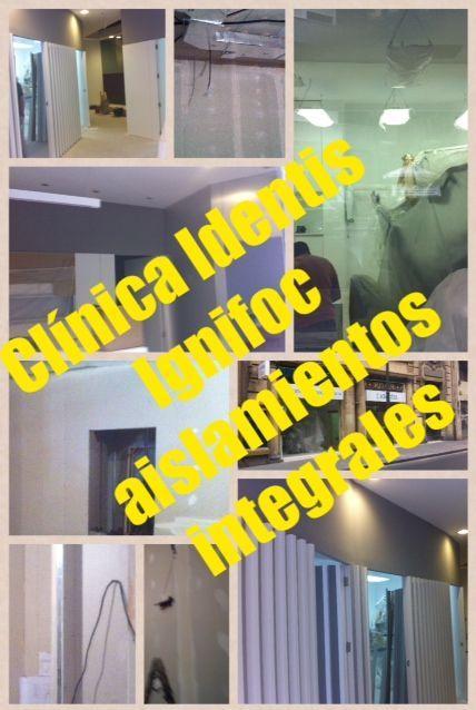 AISLAMIENTO ACÚSTICO - TABIQUERÍA SECA - FALSOS TECHO - IGNIFOC AISLAMIENTOS INTEGRALES.