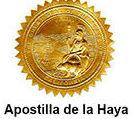Apostilla de la Haya. Legalización de documentos
