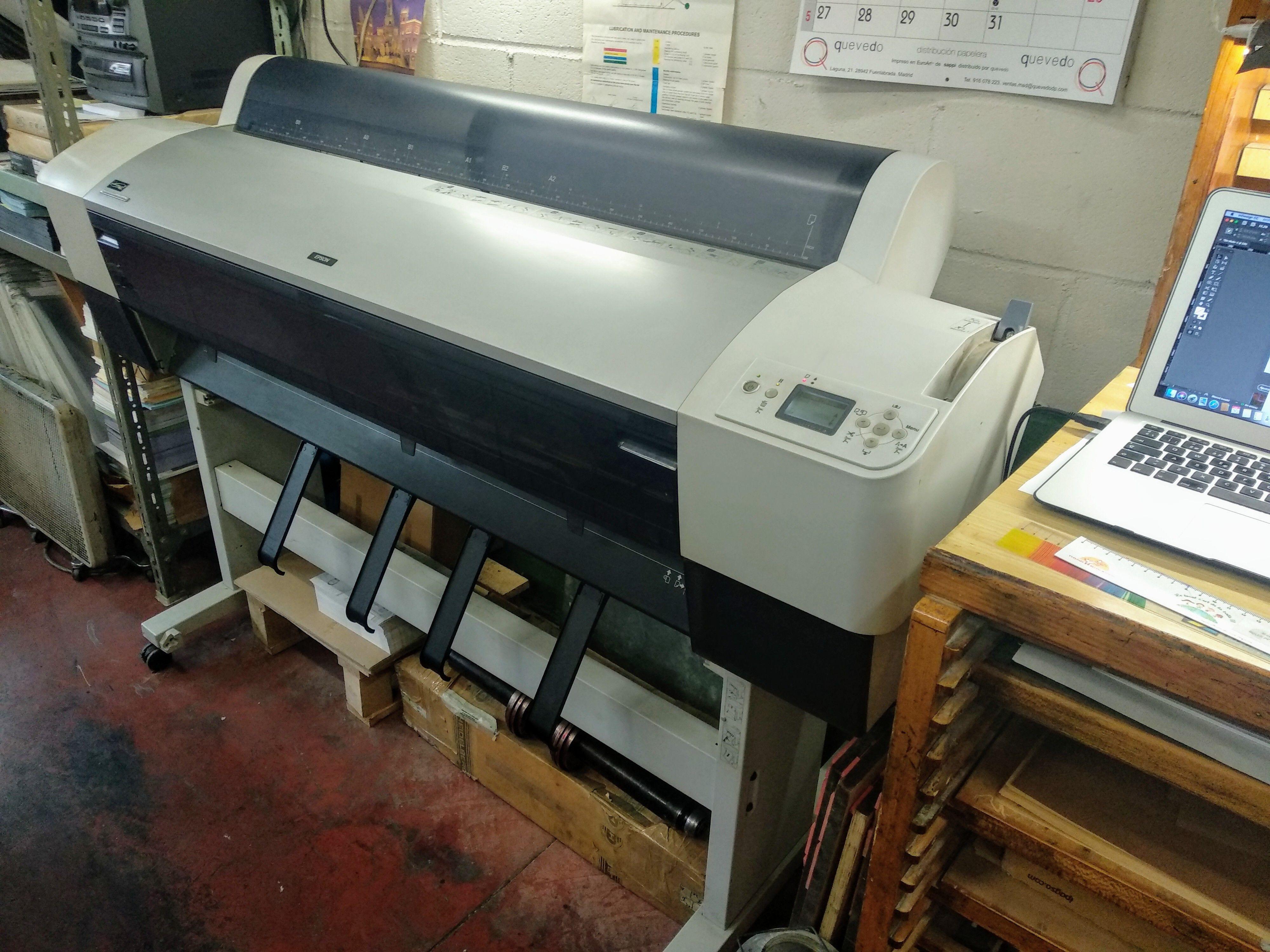 Imprenta en Fuenlabrada
