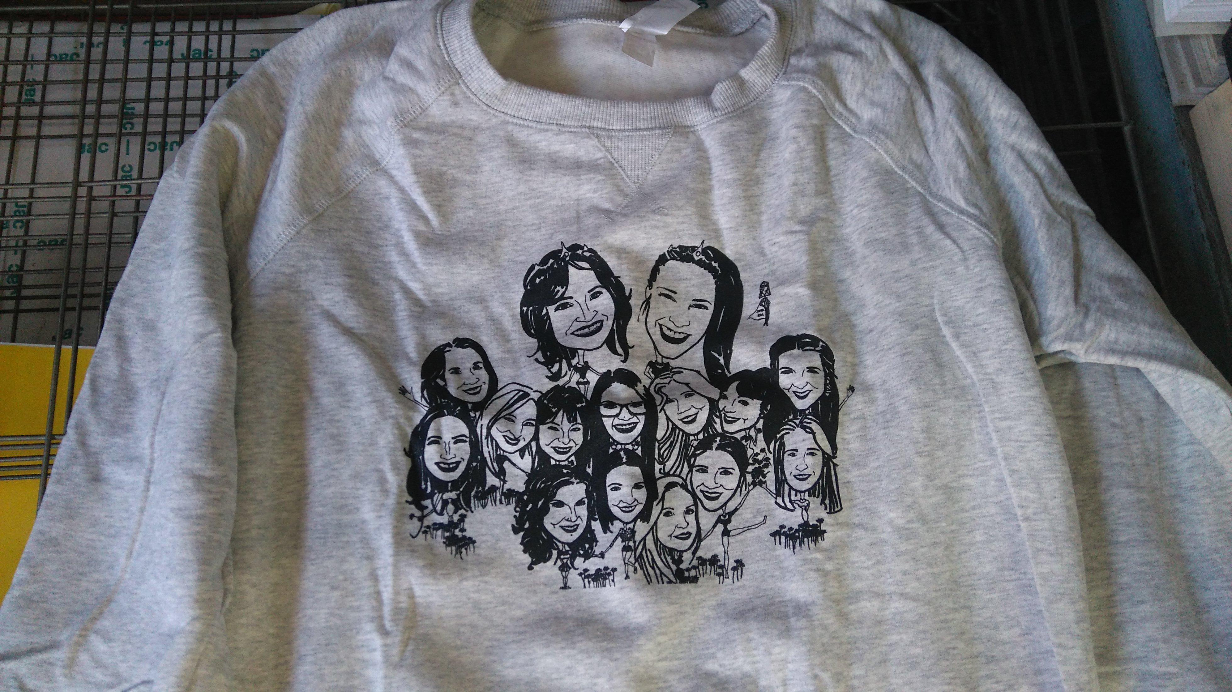 Camisetas personalizadas, ropa trabajo: Catálogo de Imprenta Jaspe