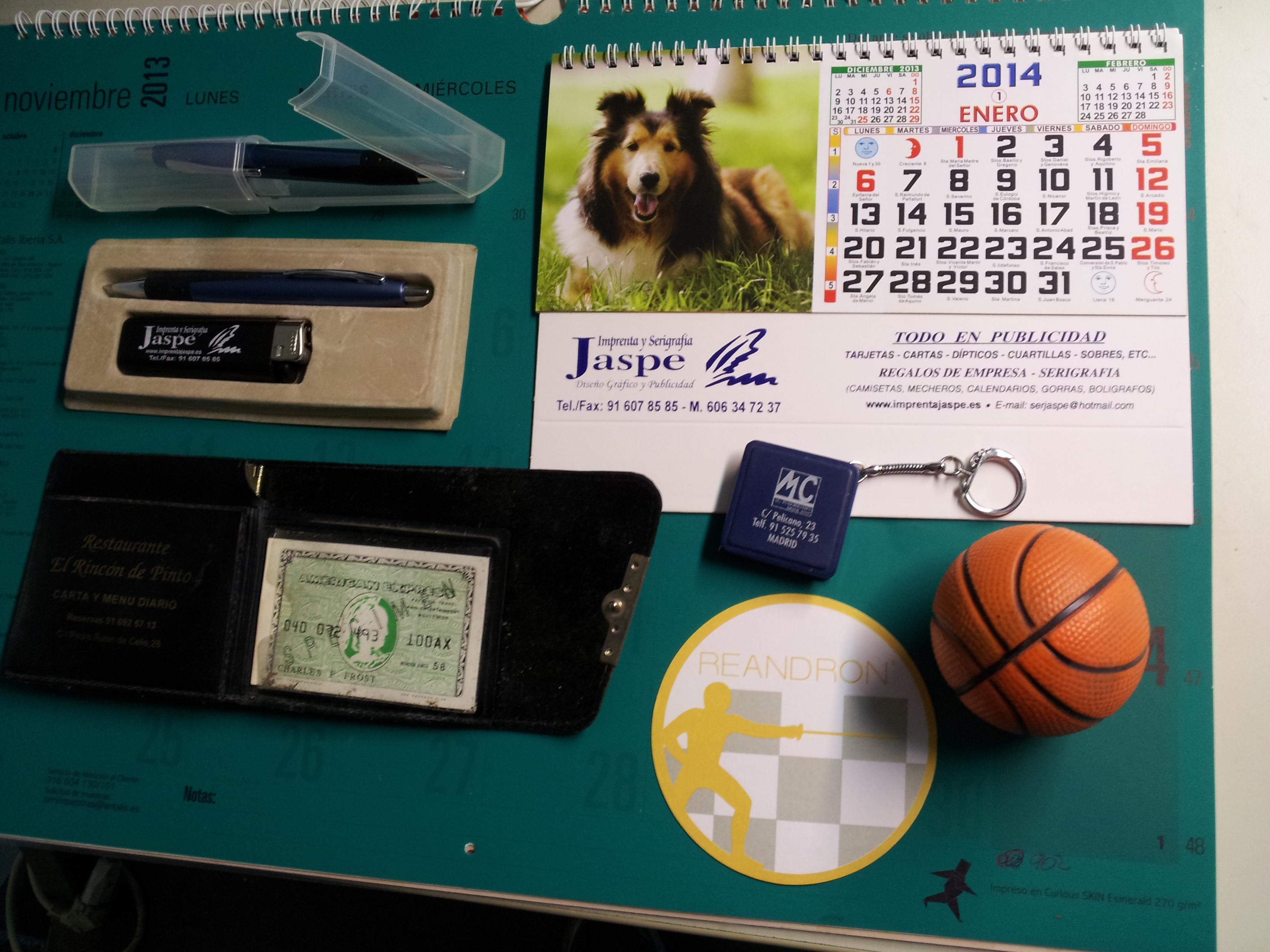 Serigrafía, adhesivos vinilo, regalos de empresa y publicidad: Catálogo de Imprenta Jaspe