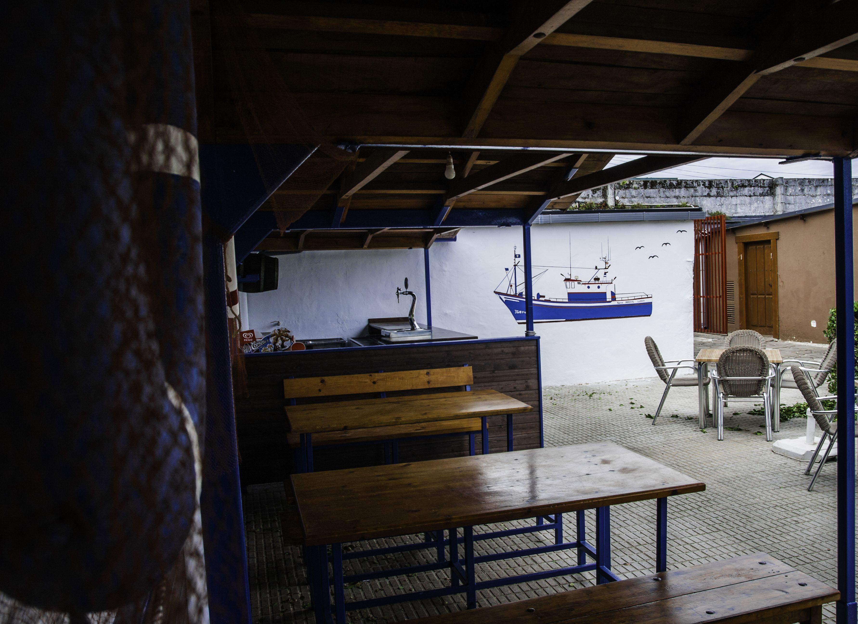 Foto 2 de Cocina asturiana en Luarca | Jardines del Marisol