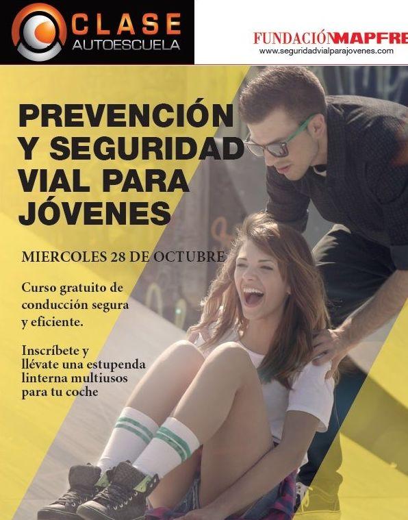 """Programa Seguridad Vial para Jóvenes """"No somos dummies: PERMISOS de Autoescuela Leceta"""