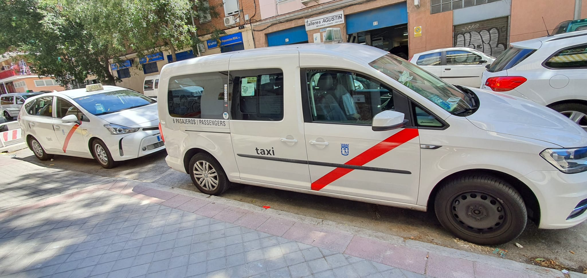 Taxi de 6 plazas Madrid