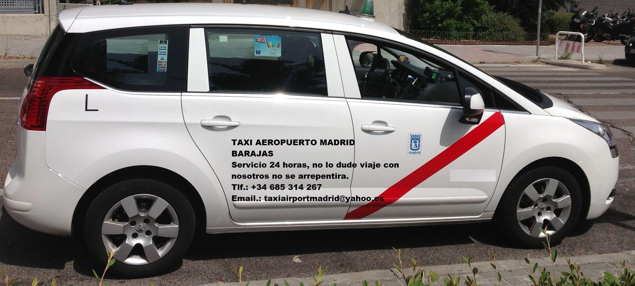 TAXI AEROPUERTO MADRID BARAJAS