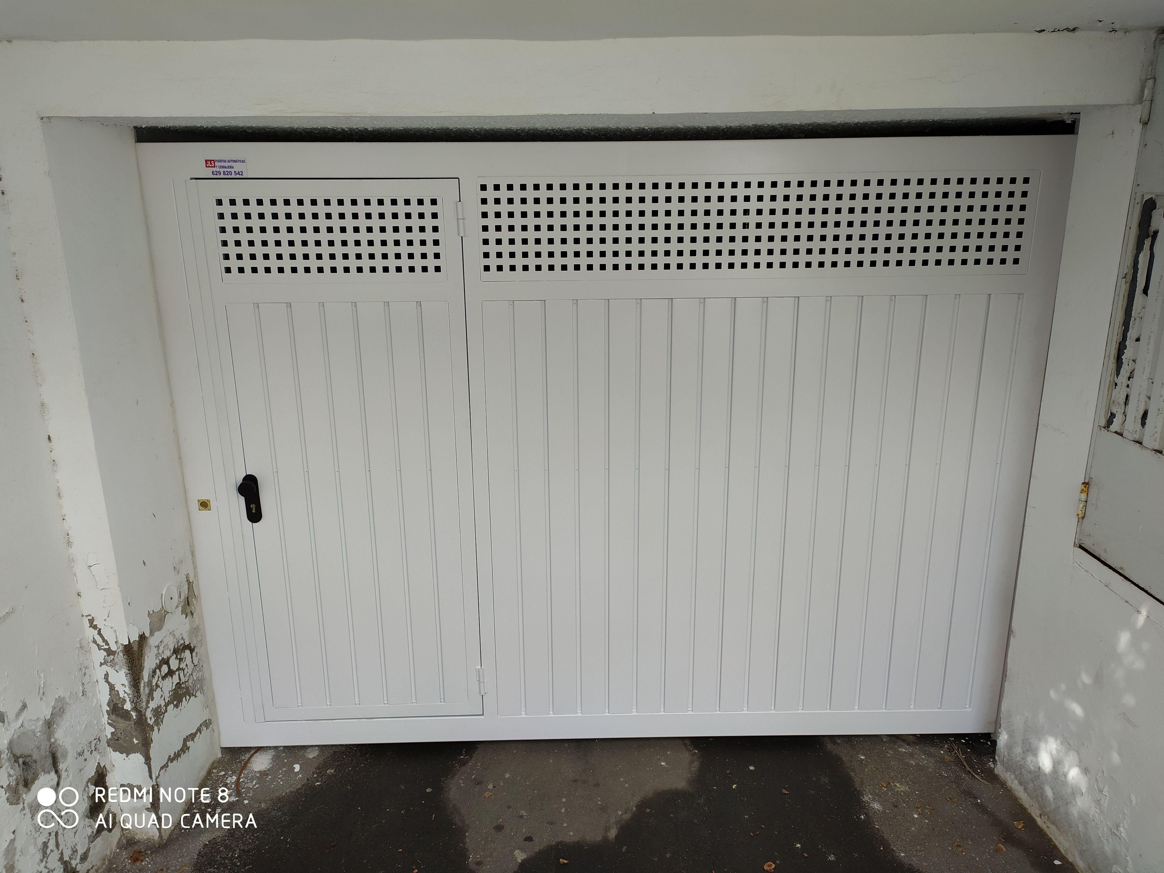 Puertas de garaje automatizadas en Tenerife
