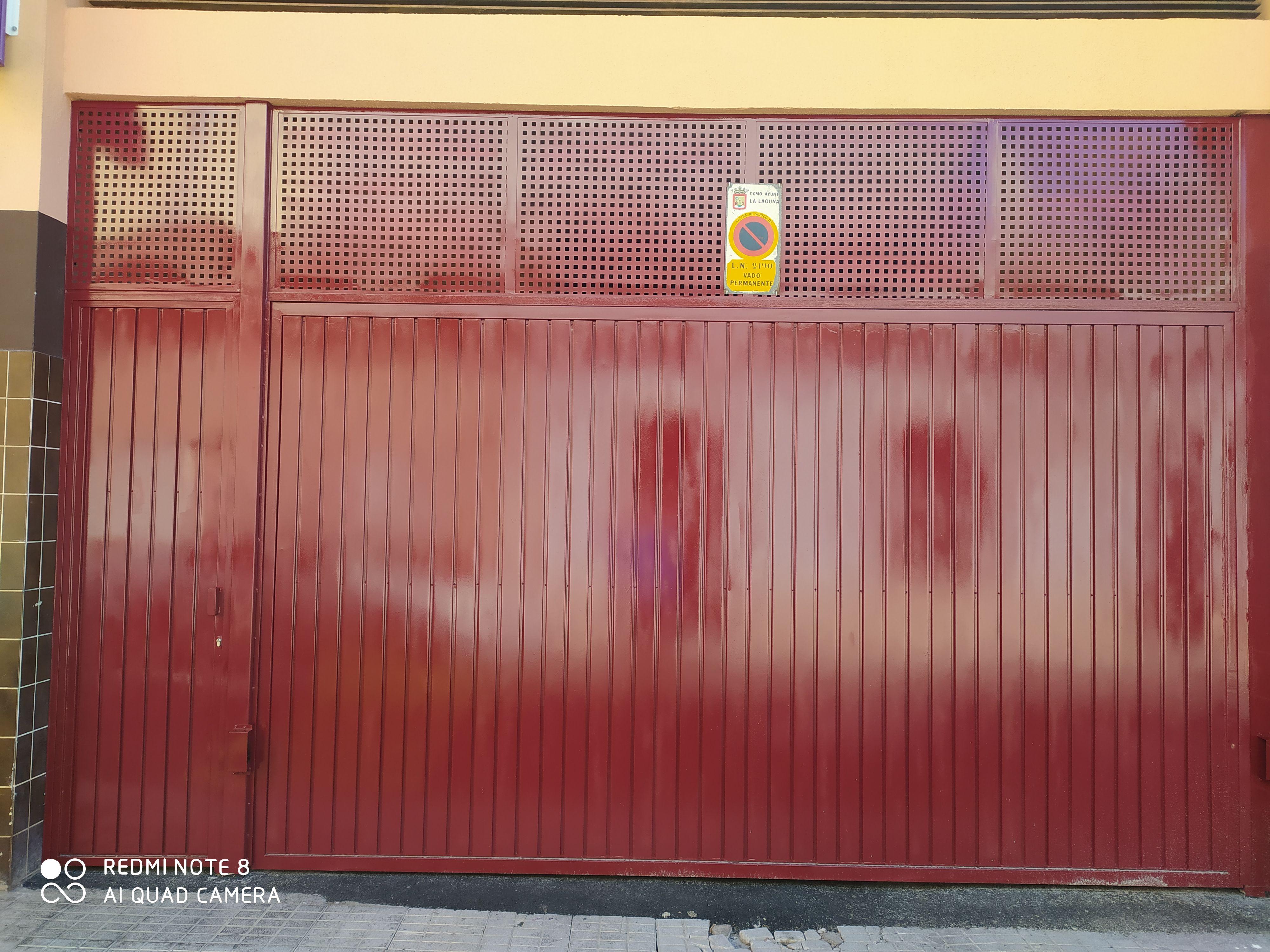 Puertas automáticas de aluminio en Tenerife