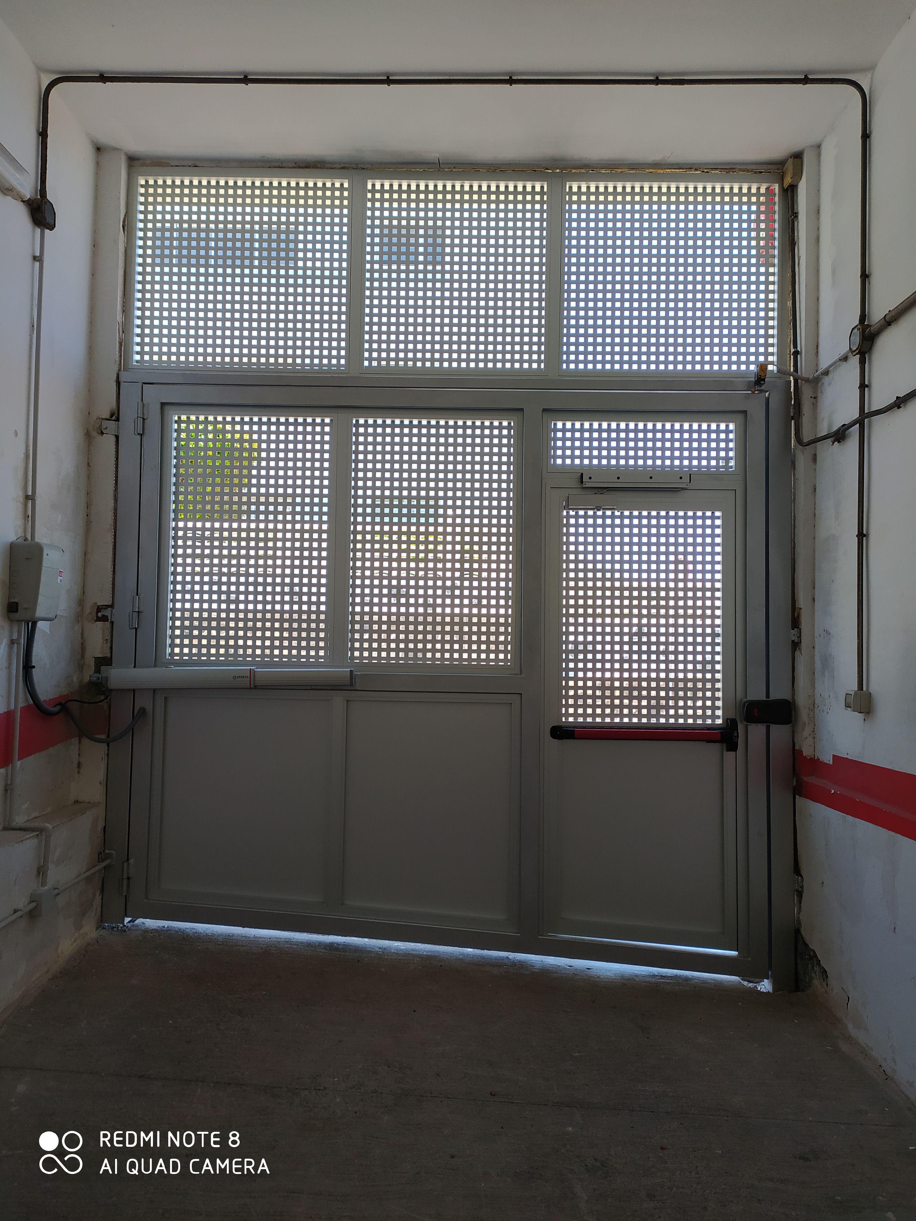Instalación de puertas automáticas en Tenerife