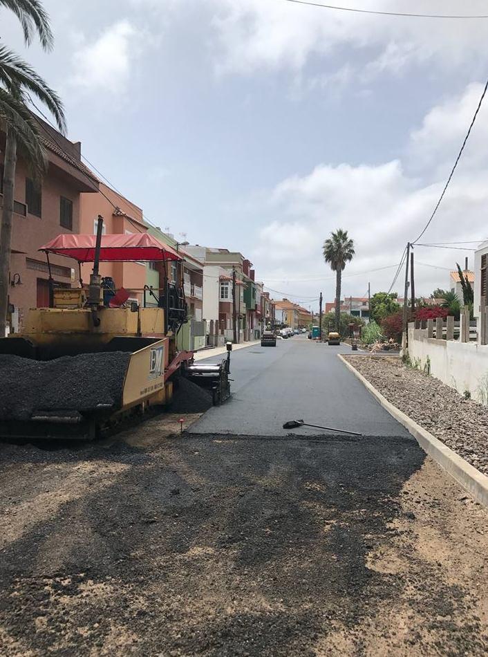 Trabajos de asfalto
