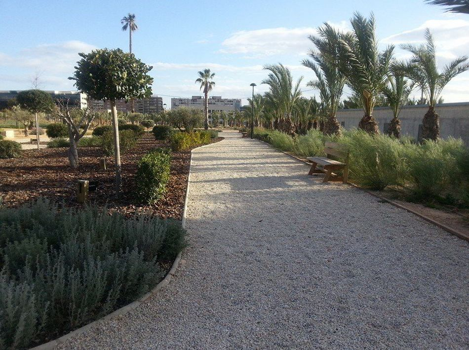 Mantenimiento de jardines urbanos