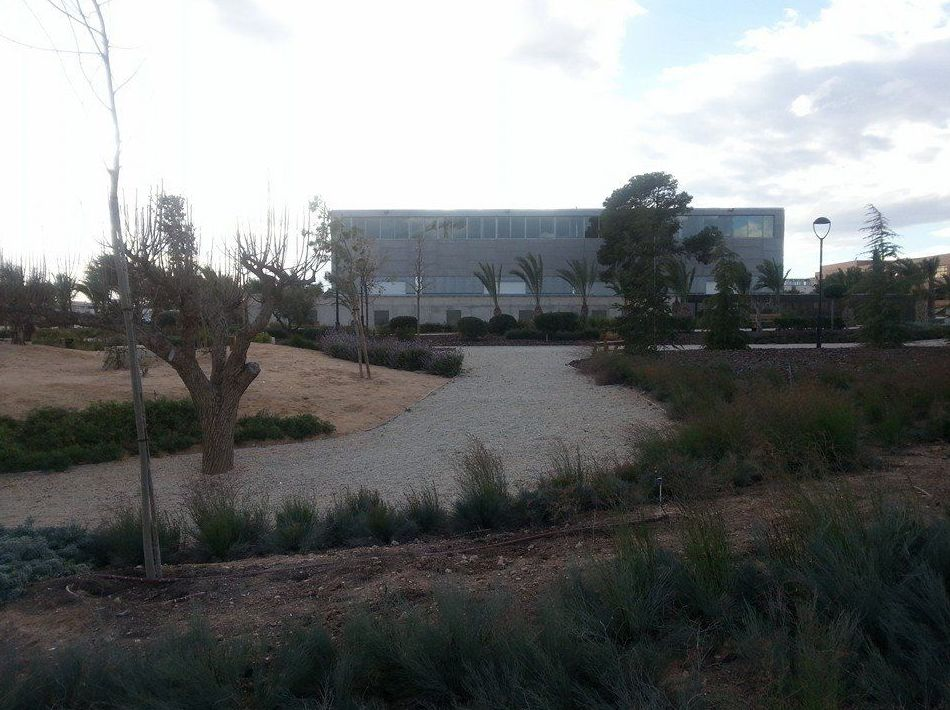 Conservación de jardines urbanos