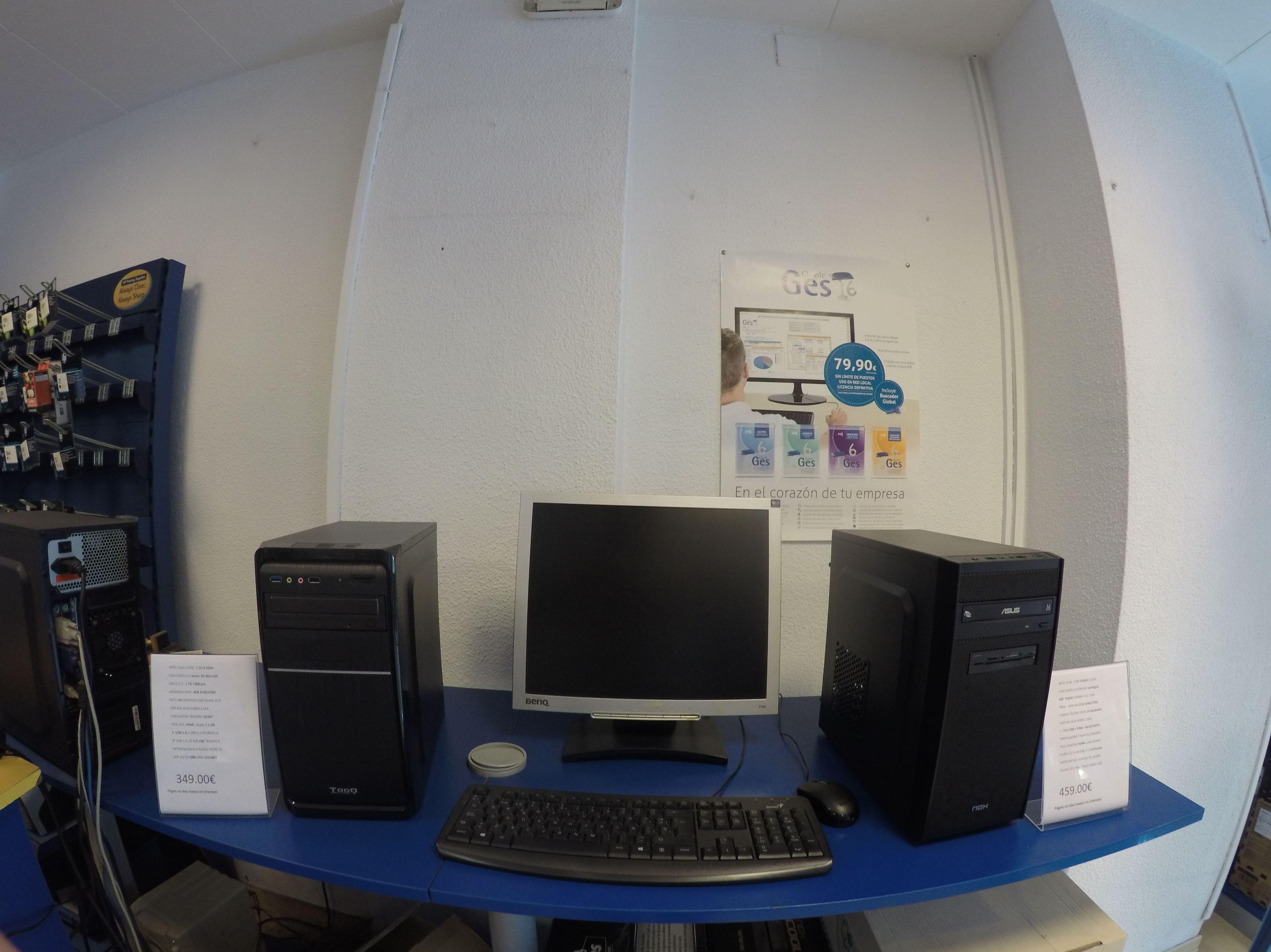 Configuración de ordenadores a medida en Badalona