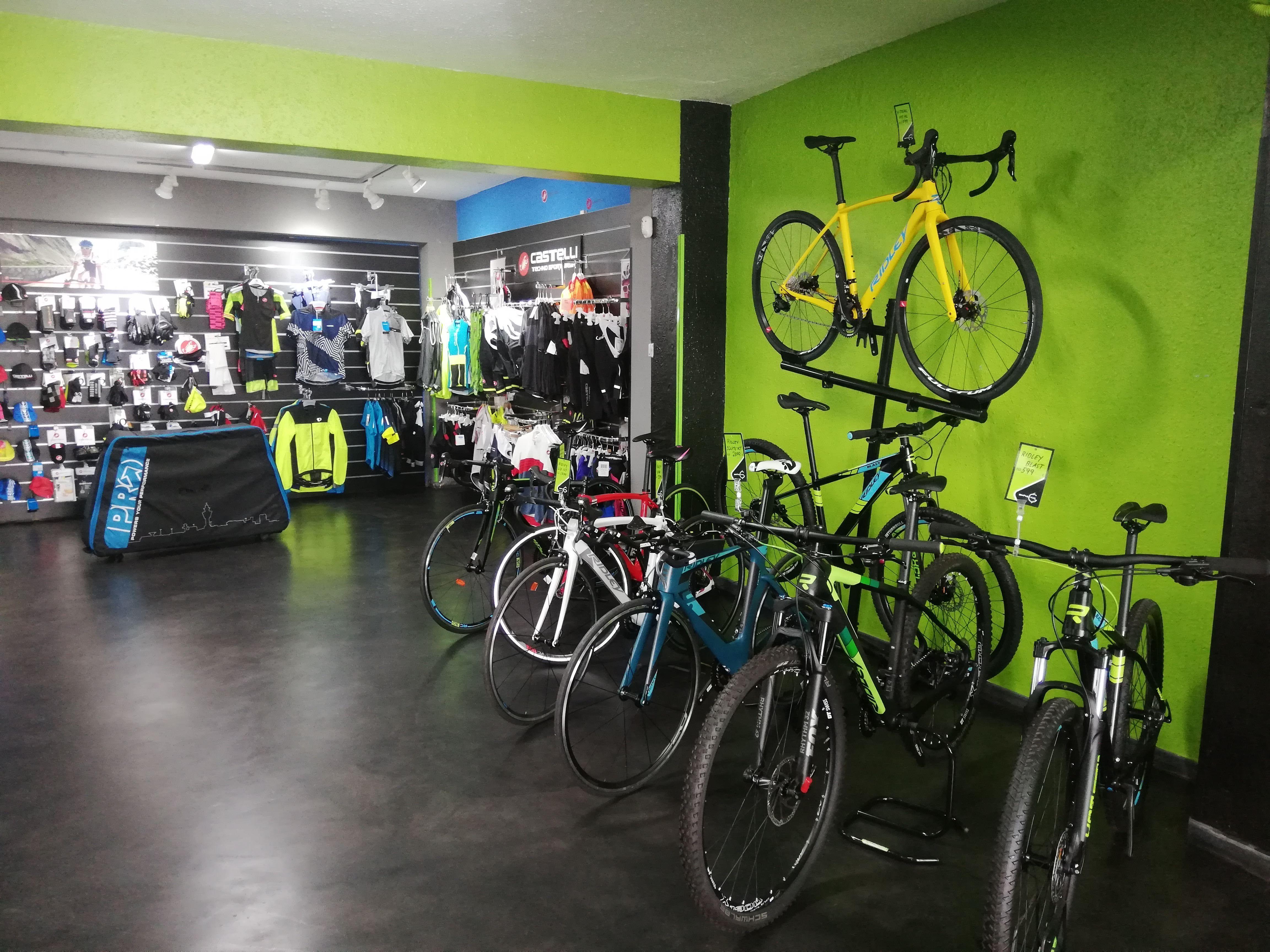 Taller de reparación de bicicletas Tenerife