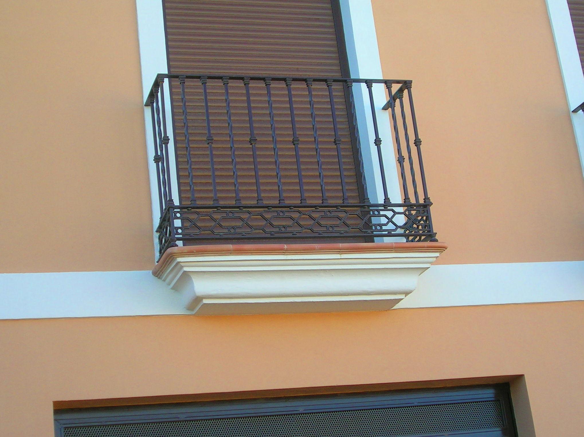 Barandillas Y Balcones Productos De Hermanos Oliva Sanchez - Balcones-aluminio