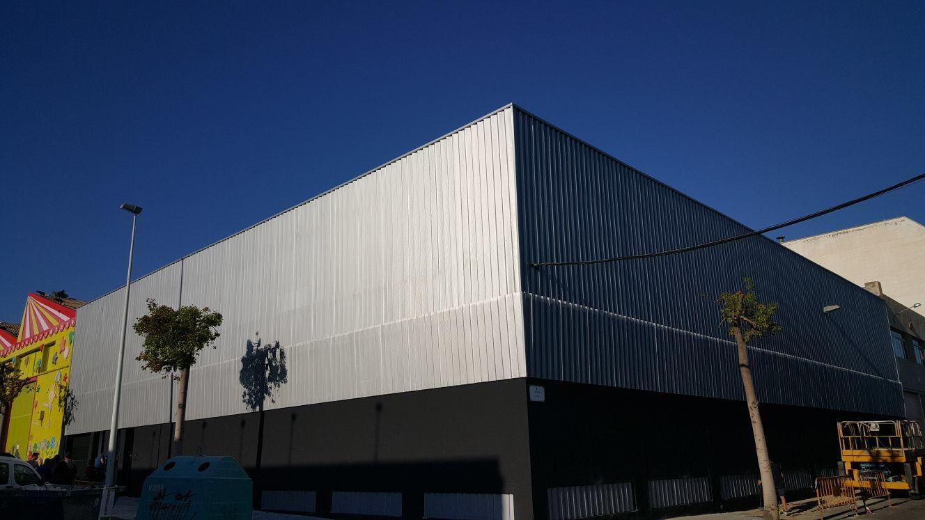 Construcción e instalación de estructuras metálicas en Alicante