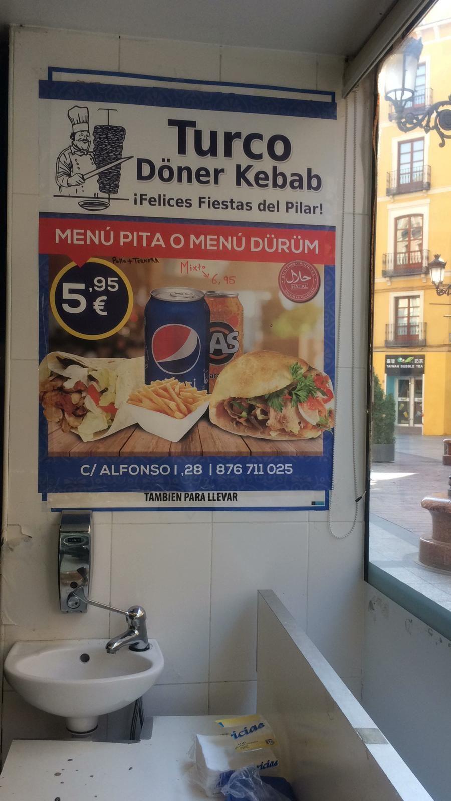 Cocina turca en Zaragoza