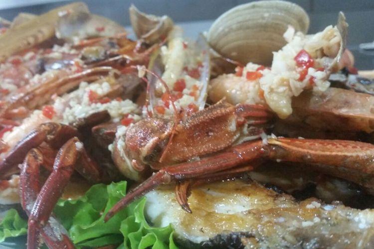 Restaurante especializado en marisco