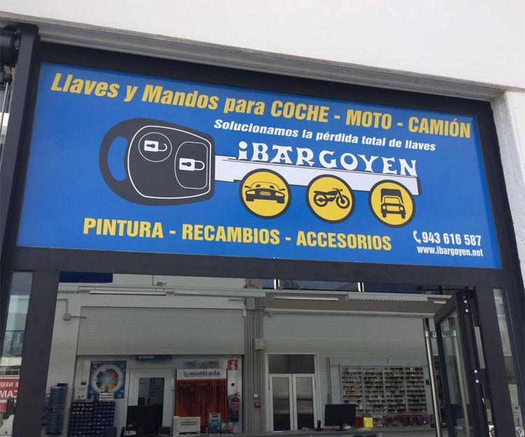 Llaves y mandos para automóviles en Guipúzcoa