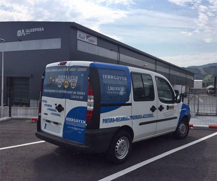 Fournitures et machines pour la réparation de véhicules dans Guipúzcoa