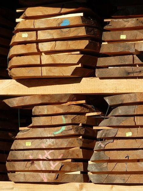 Aserradero de madera. Serrería