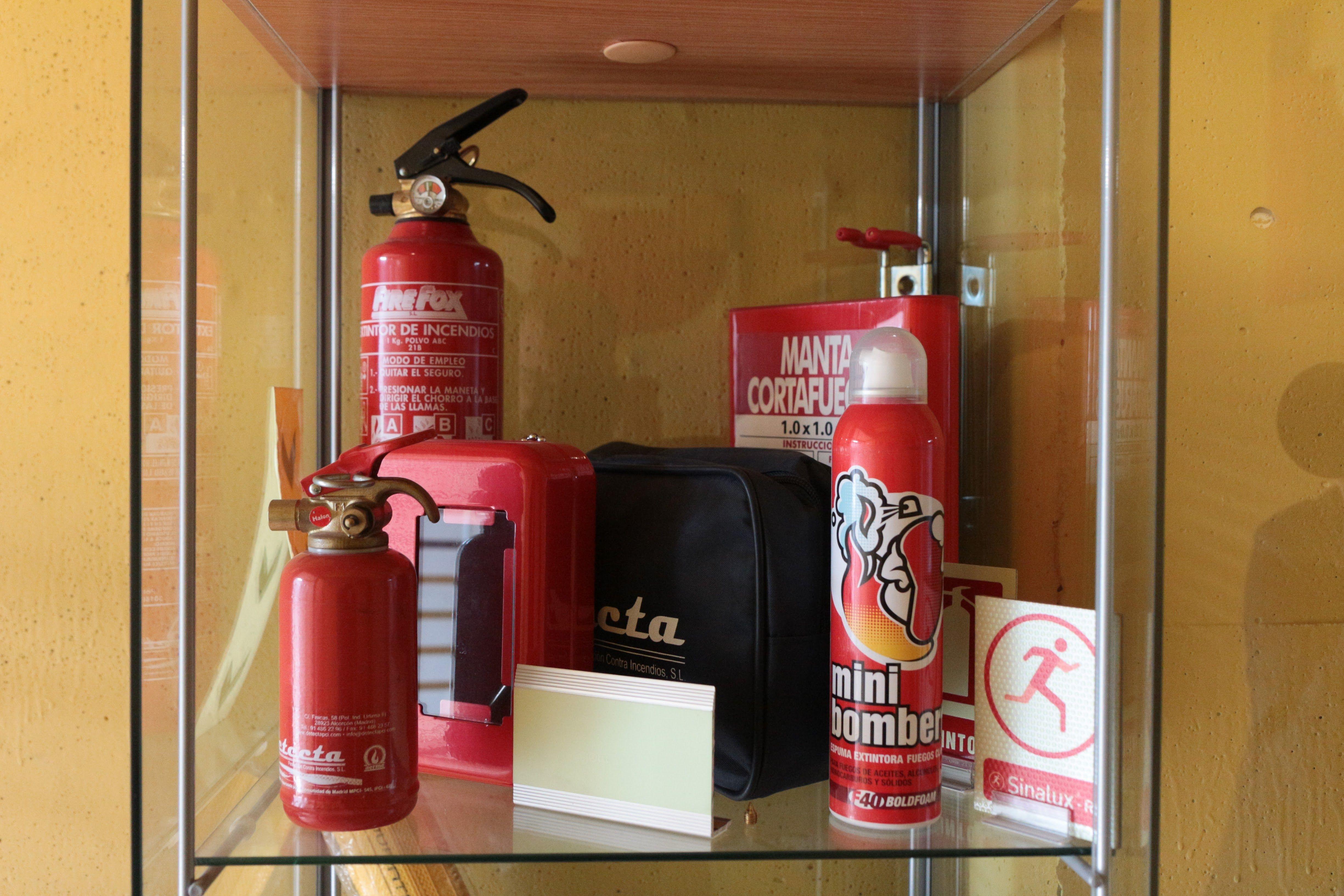 Foto 2 de Material contra incendios en Móstoles | Detecta PCI