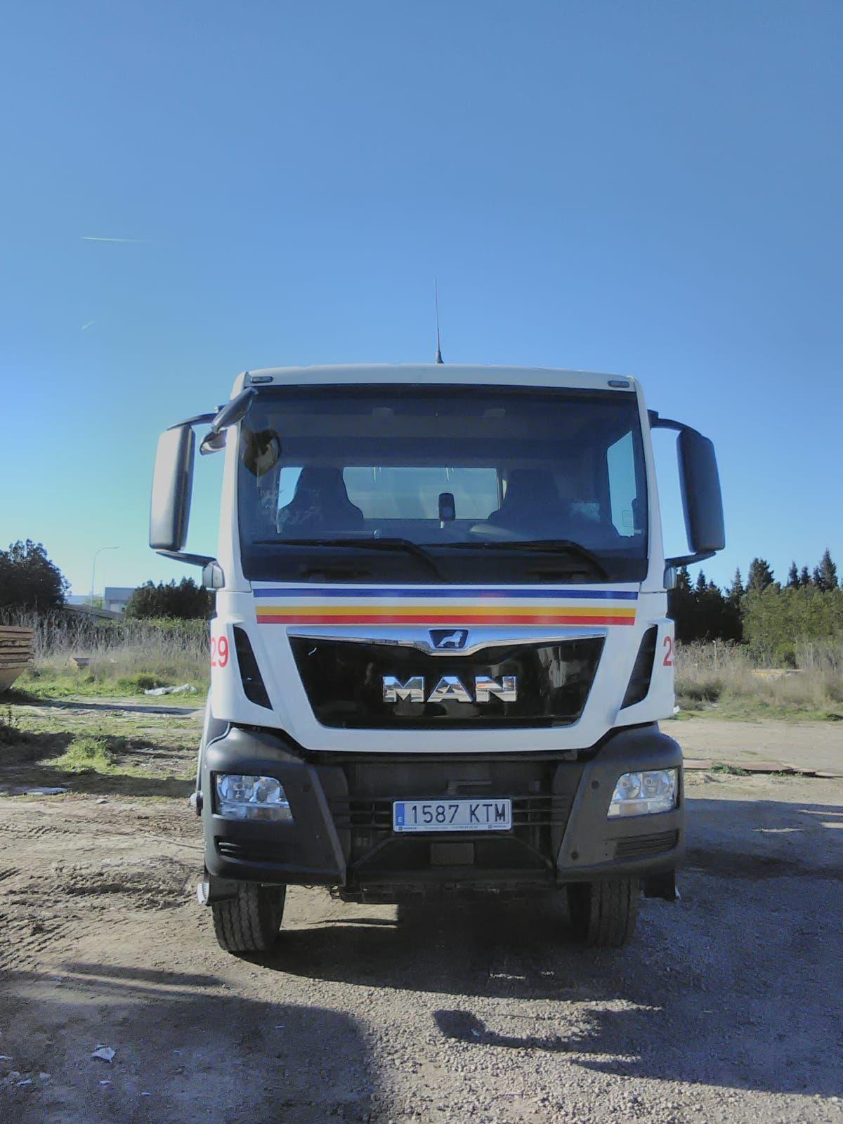 Flota propia de camiones