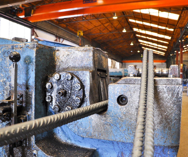 Elaboración y montaje de acero corrugado en Barcelona