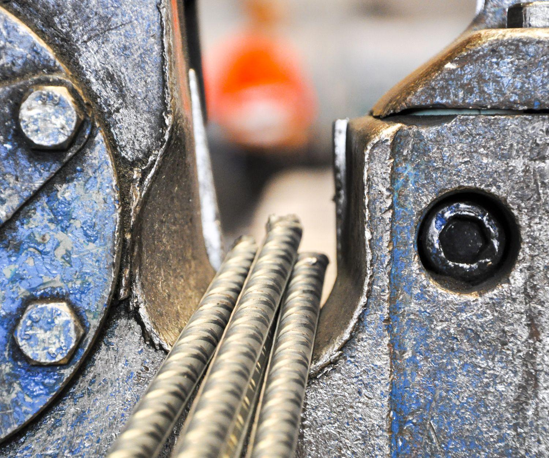 Montaje de acero corrugado en Barcelona