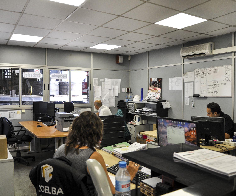 Interior de nuestras oficinas en Barcelona