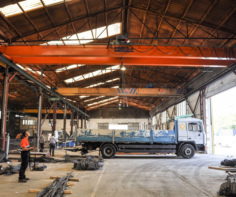 Empresa de elaboración de acero corrugado en Barcelona