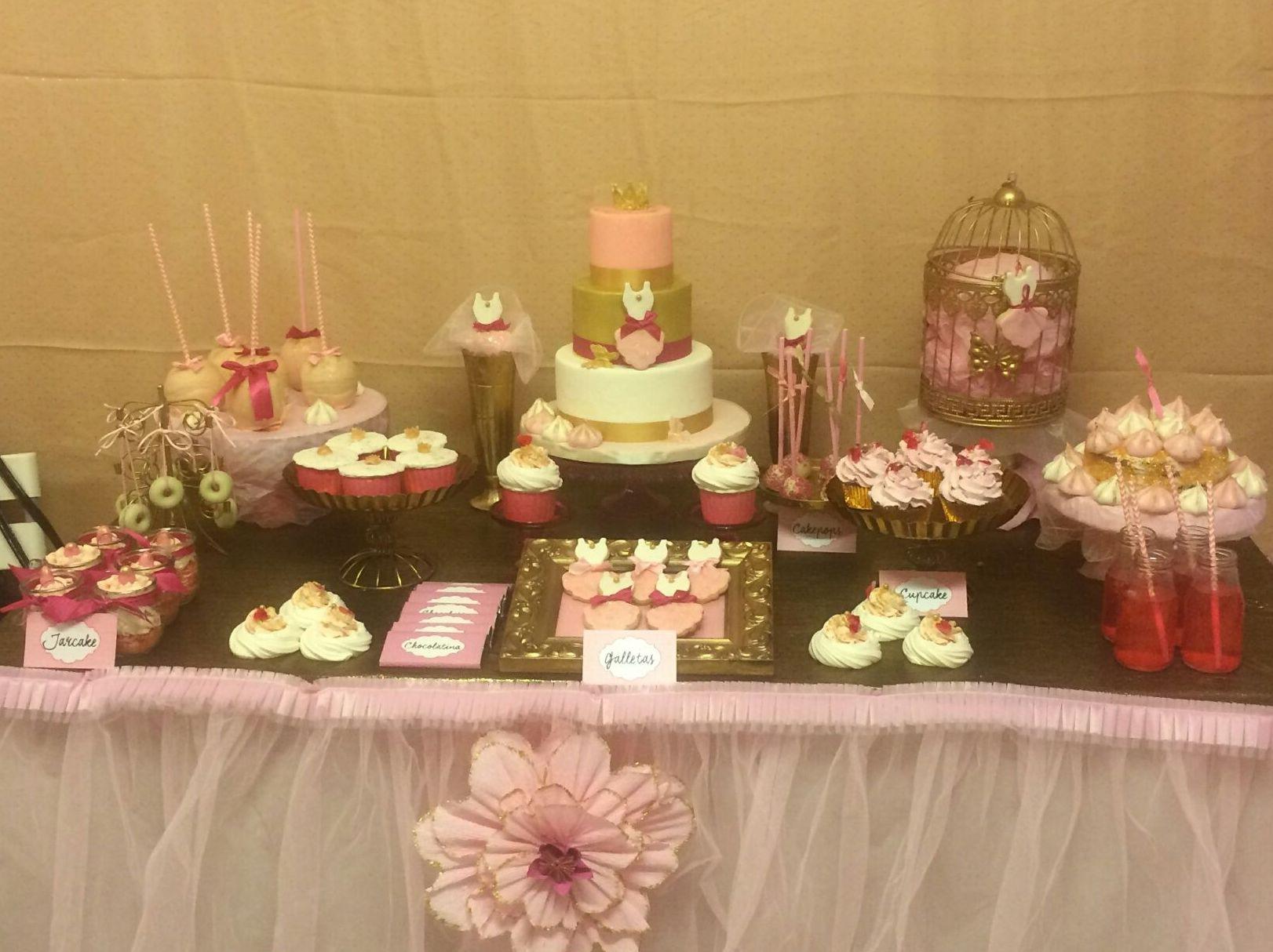 Mesa de dulces para celebraciones