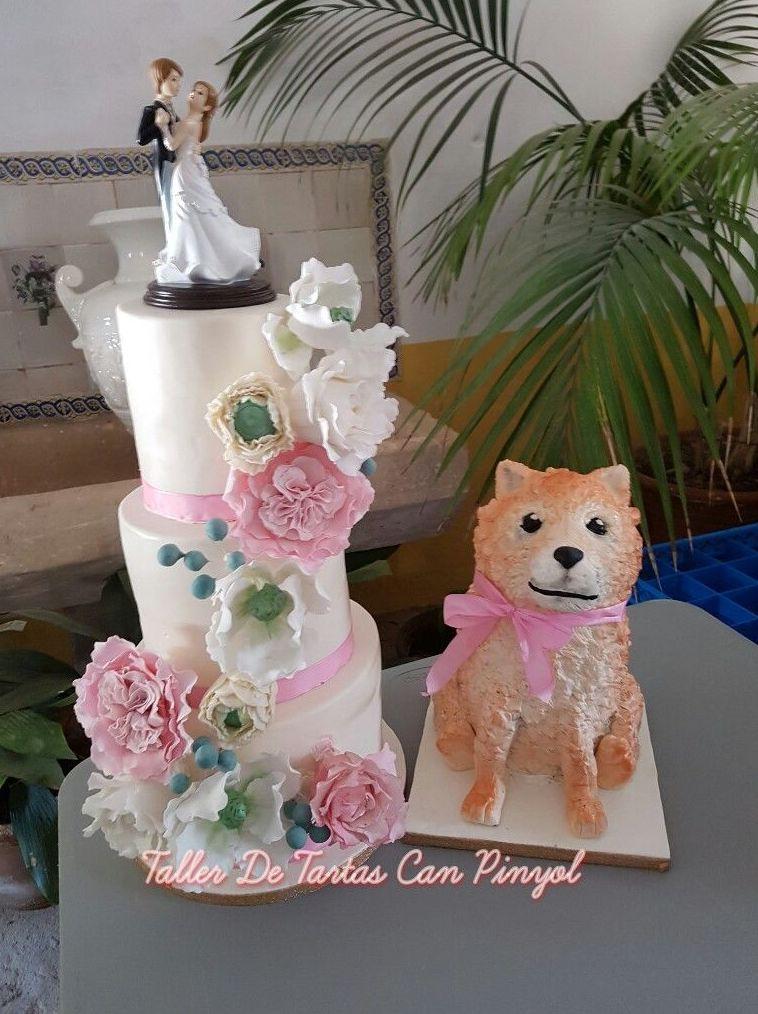 Tartas de fondant para bodas