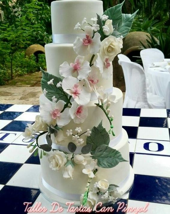 Taller de tartas de fondant para bodas