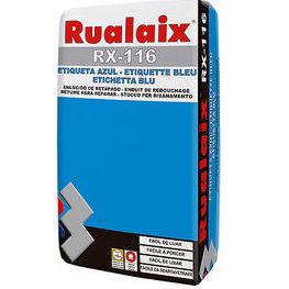 RX-116 Rualaix Etiqueta Azul en tienda de pinturas en ciudad lineal.