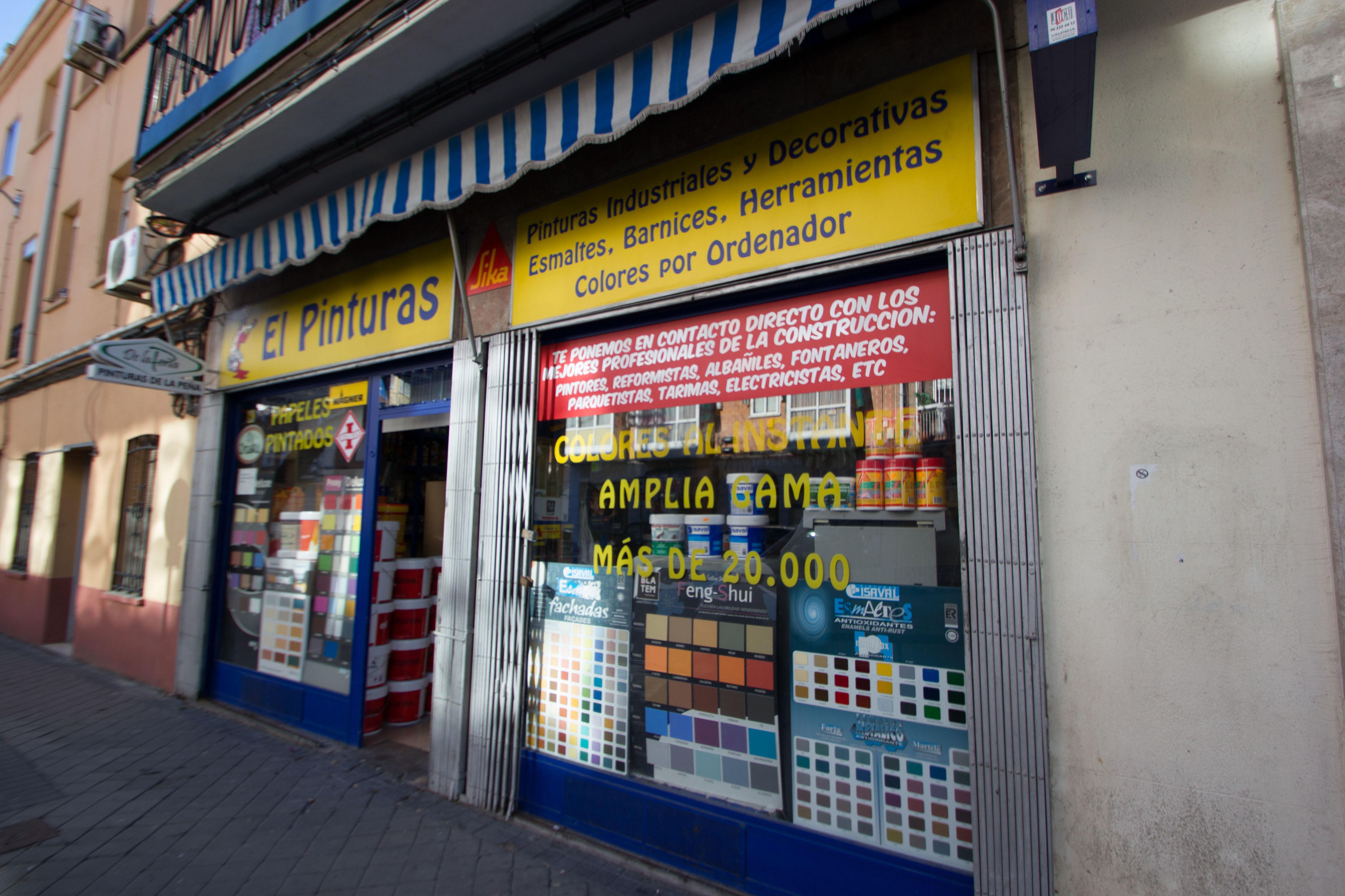 Tienda especializada en todo tipo de pinturas en Madrid