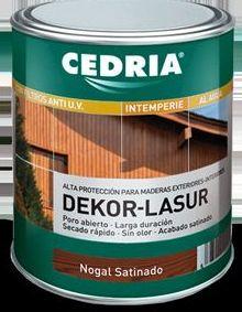Dekor lasur CEDRIA en tienda de pinturas en pueblo nuevo.