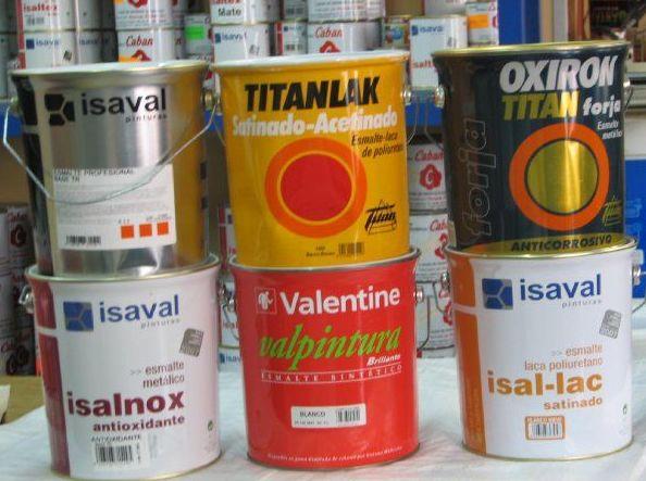 Esmaltes, lacas y antioxidantes