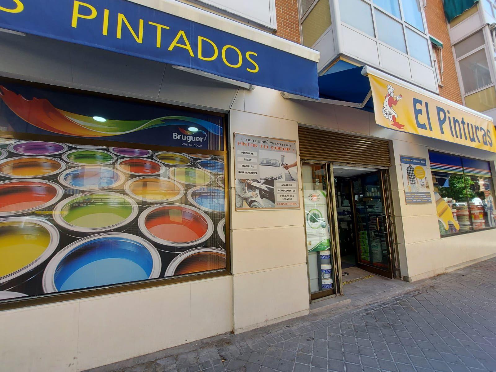 Foto 12 de Pinturas, barnices y papeles pintados en Madrid | El Pinturas, S. L.